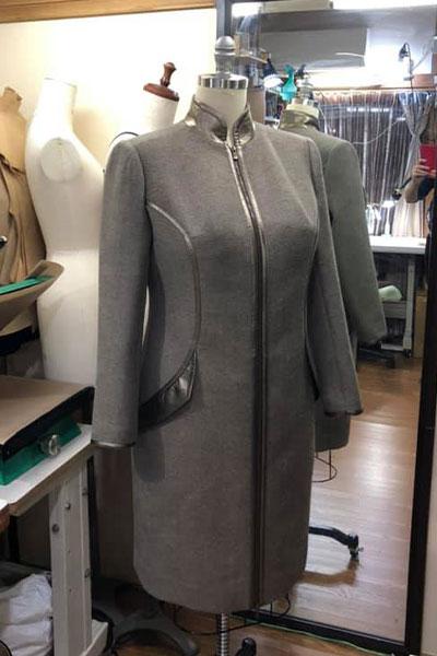 冬用ウールコート